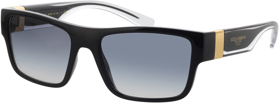 Picture of glasses model Dolce&Gabbana DG6149 501/79 56-18 in angle 330