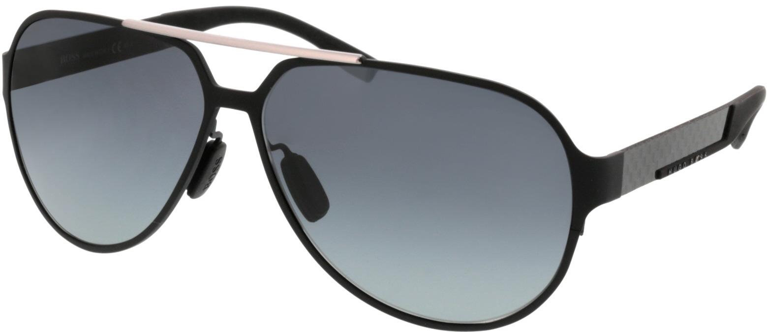 Picture of glasses model Hugo Boss Zwart Boss 0669/S HXJ 63 12 in angle 330