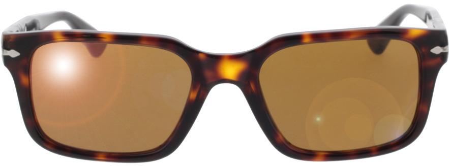Picture of glasses model Persol PO3272S 24/33 53-20 in angle 0