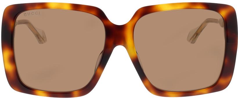 Picture of glasses model Gucci GG0567SA-002 58-16 in angle 0
