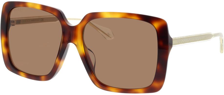 Picture of glasses model Gucci GG0567SA-002 58-16