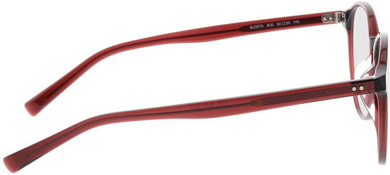 Picture of glasses model Bolon BJ3075 B30 50-20 in angle 90