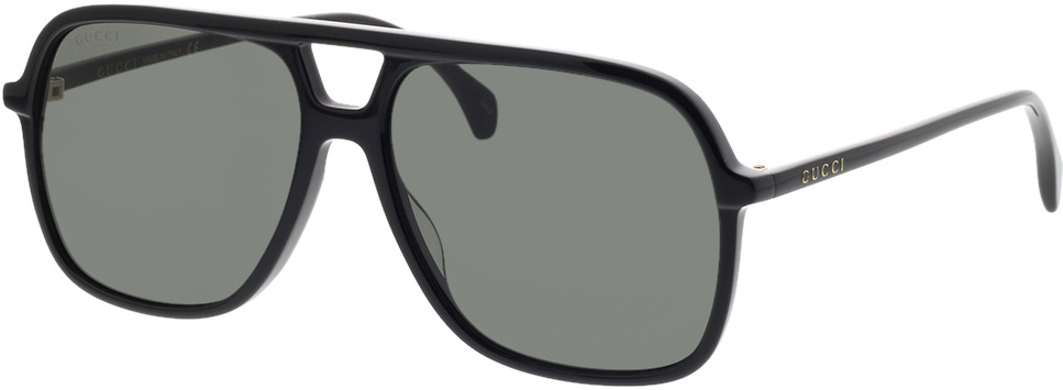 Picture of glasses model Gucci GG0545S-001 58-15 in angle 330