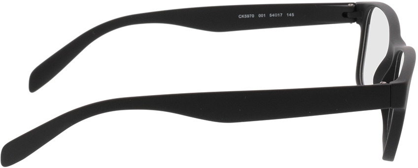 Picture of glasses model Calvin Klein CK5970 001 54-17 in angle 90