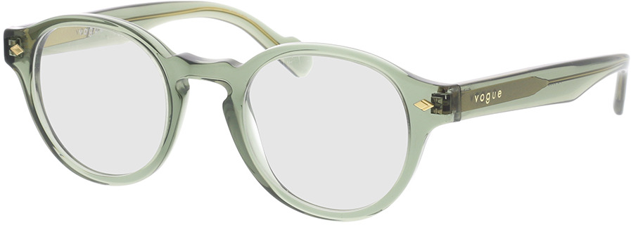 Picture of glasses model Vogue VO5332 2821 46-22 in angle 330