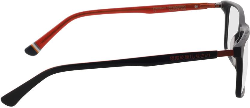 Picture of glasses model Superdry SDO Arno 104 black/orange 56-17 in angle 90