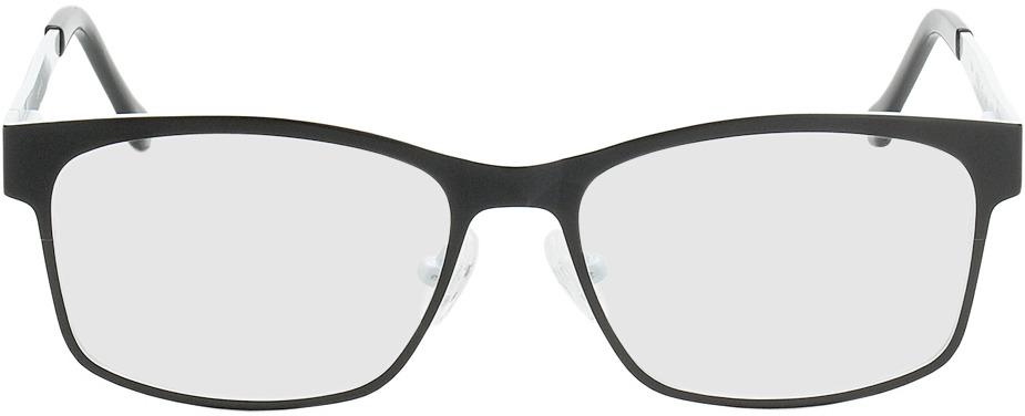 Picture of glasses model Tumba black/white in angle 0