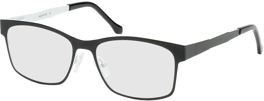 Picture of glasses model Tumba-black-white in angle 330