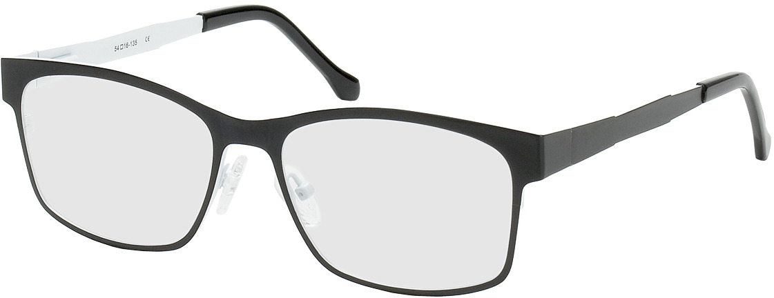 Picture of glasses model Tumba black/white in angle 330