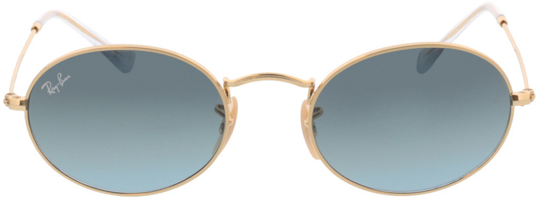 Picture of glasses model Ray-Ban Oval RB3547 001/3M 51-21 in angle 0