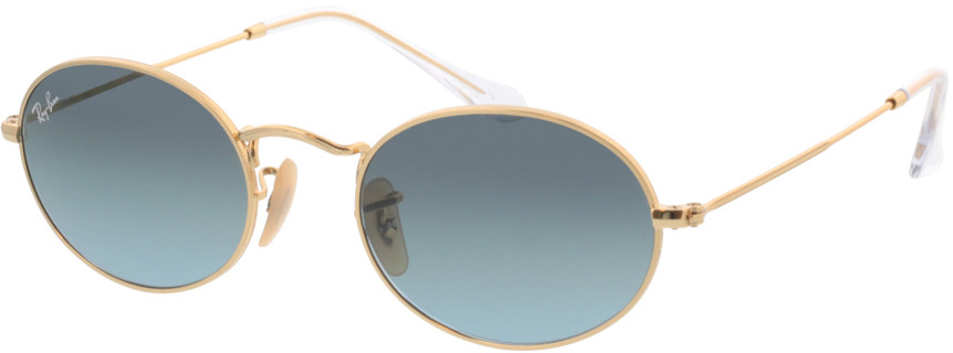 Picture of glasses model Ray-Ban Oval RB3547 001/3M 51-21 in angle 330