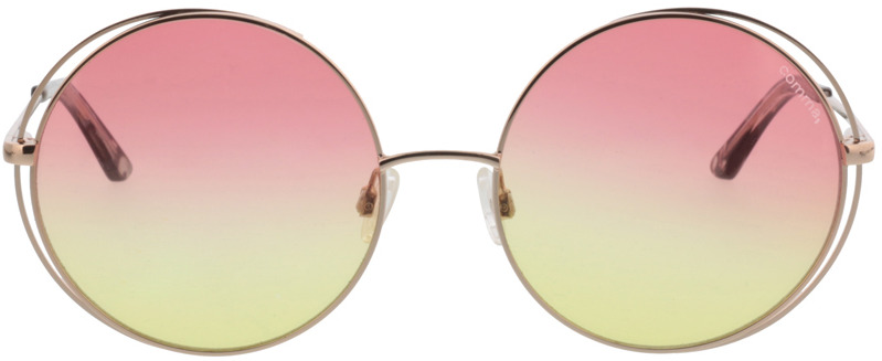 Picture of glasses model Comma, 77072 75 gold 56-17 in angle 0