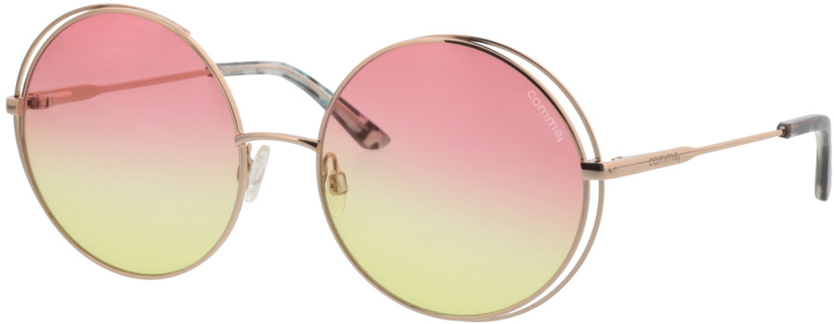Picture of glasses model Comma, 77072 75 gold 56-17 in angle 330