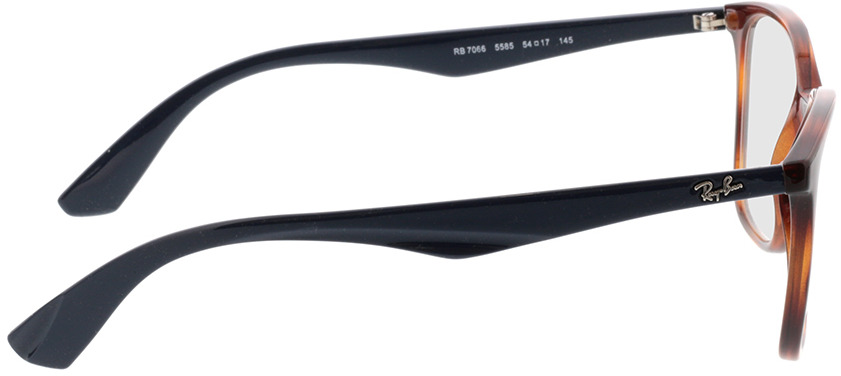Picture of glasses model Ray-Ban RX7066 5585 54-17 in angle 90