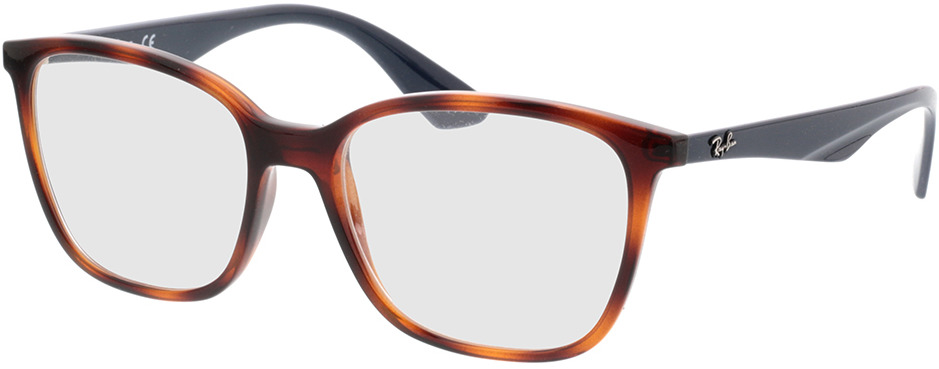 Picture of glasses model Ray-Ban RX7066 5585 54-17 in angle 330