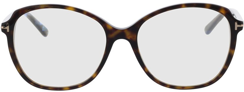 Picture of glasses model Tom Ford FT5708-B 052 57 in angle 0