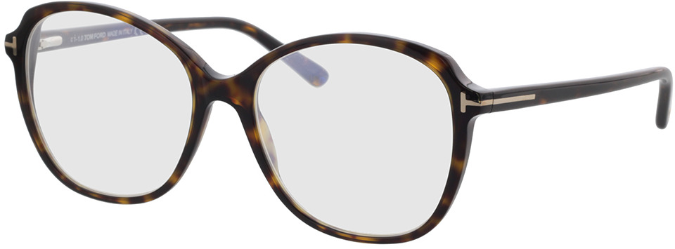 Picture of glasses model Tom Ford FT5708-B 052 57 in angle 330