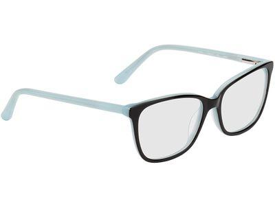 Brille Duisburg-schwarz/hellblau