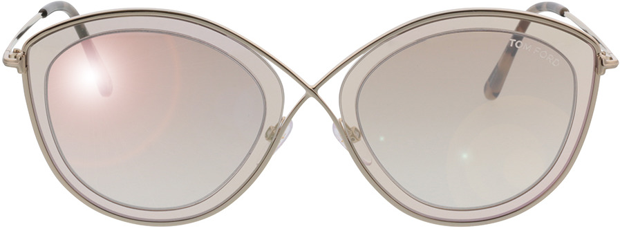 Picture of glasses model Tom Ford Sacha FT0604 47G in angle 0