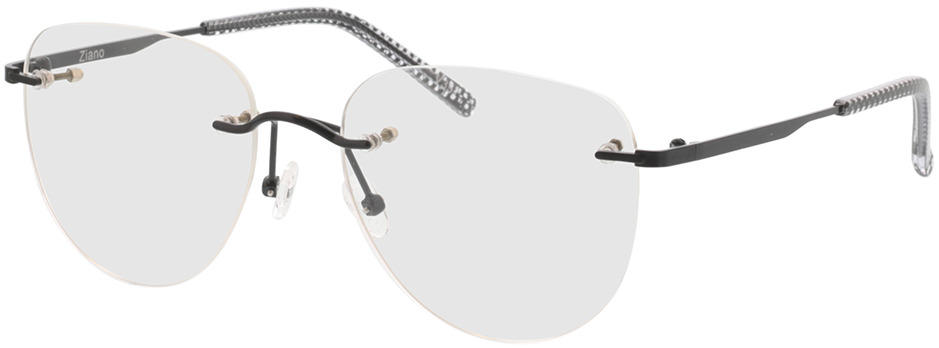 Picture of glasses model Ziano-schwarz in angle 330