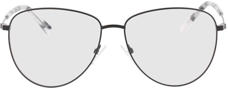 Picture of glasses model Riley-matt schwarz in angle 0