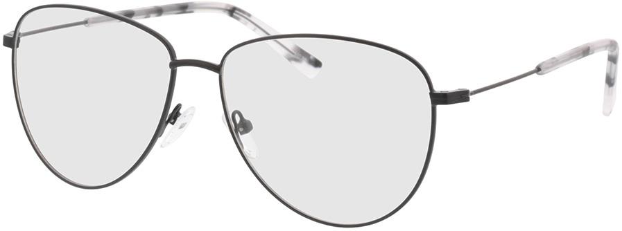 Picture of glasses model Riley-matt schwarz in angle 330