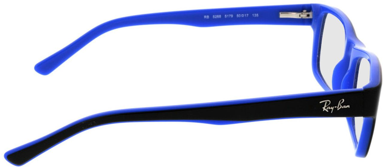 Picture of glasses model Ray-Ban RX5268 5179 50-17 in angle 90