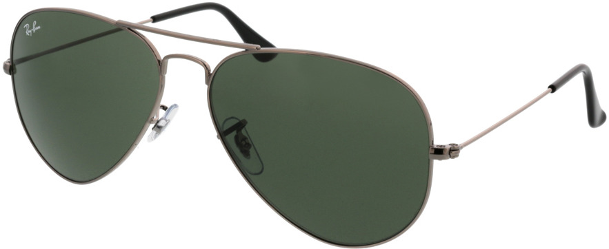 Picture of glasses model Ray-Ban Aviator RB3025 W0879 58-14 in angle 330