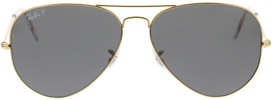 Picture of glasses model Ray-Ban Aviator Large Metal RB3025 919648 62-14 in angle 0