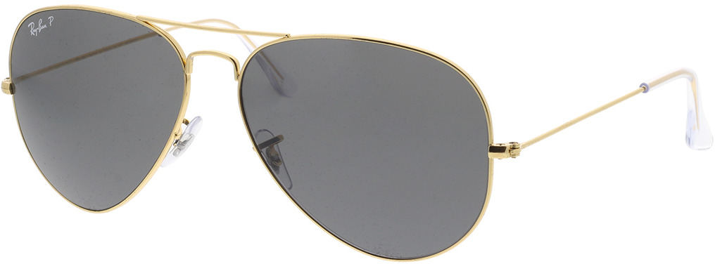 Picture of glasses model Ray-Ban Aviator Large Metal RB3025 919648 62-14 in angle 330