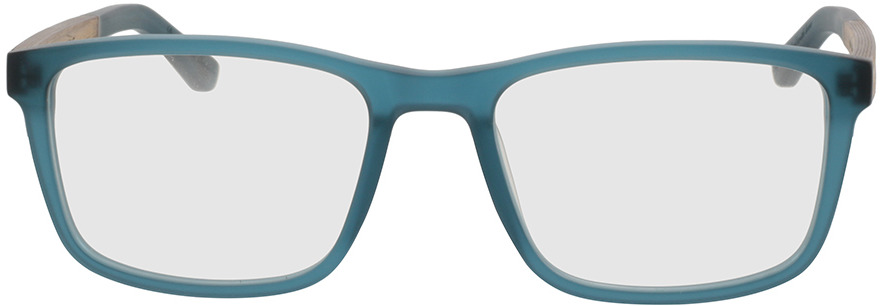Picture of glasses model Wood Fellas Optical Eysome walnut/indigo 57-20 in angle 0