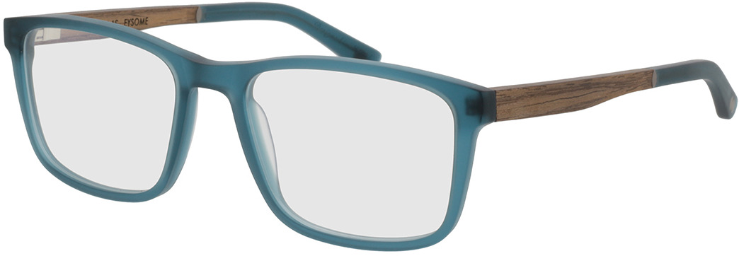 Picture of glasses model Wood Fellas Optical Eysome walnut/indigo 57-20 in angle 330