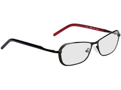 Brille Palmira-schwarz-blau/rot