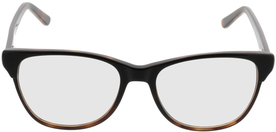 Picture of glasses model Comma70042 66 schwarz-braun 53-17 in angle 0