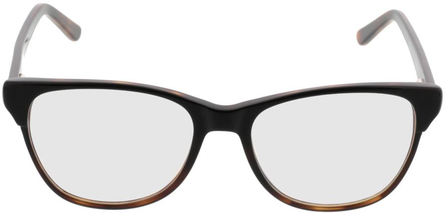 Picture of glasses model Comma, 70042 66 preto-castanho 53-17 in angle 0
