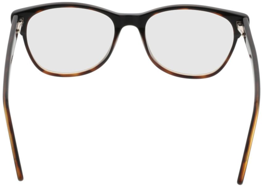 Picture of glasses model Comma70042 66 schwarz-braun 53-17 in angle 180