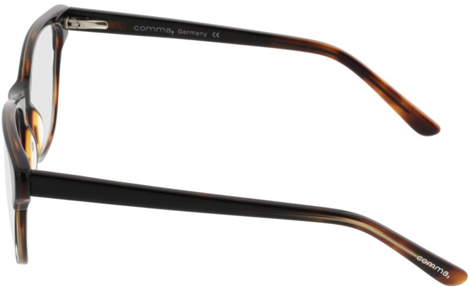 Picture of glasses model Comma70042 66 schwarz-braun 53-17 in angle 270