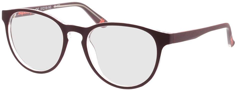 Picture of glasses model Superdry SDO Katlyn 162 lila 51-18 in angle 330