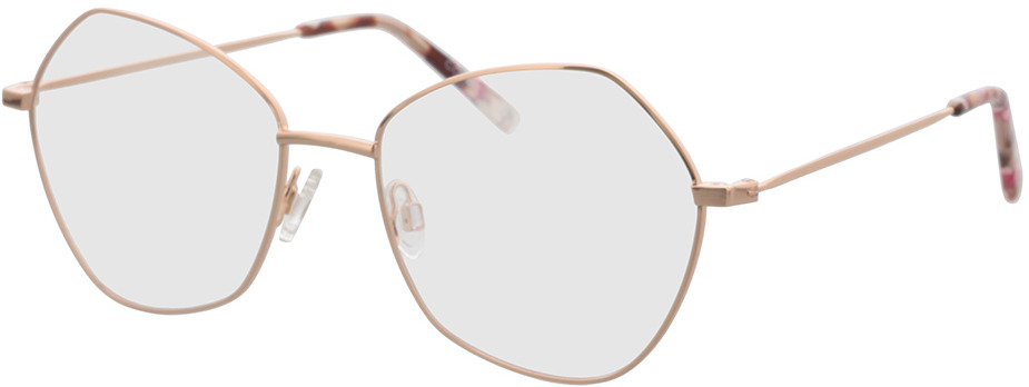 Picture of glasses model Comma, 70117 77 rose gold 55-18 in angle 330