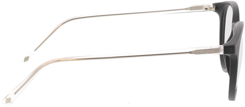 Picture of glasses model Ovis-matt schwarz in angle 90