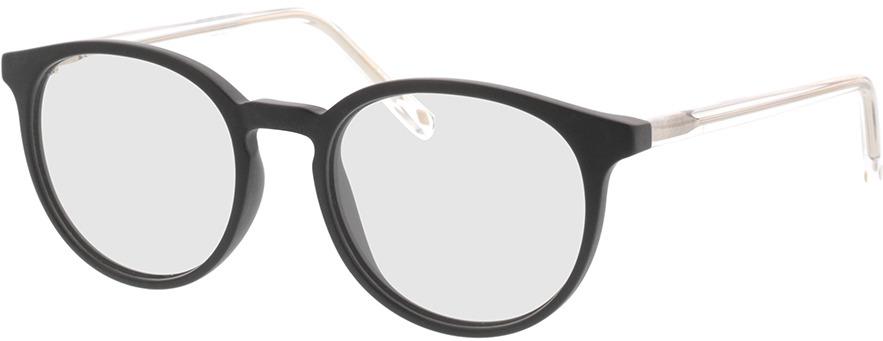 Picture of glasses model Ovis-matt schwarz in angle 330