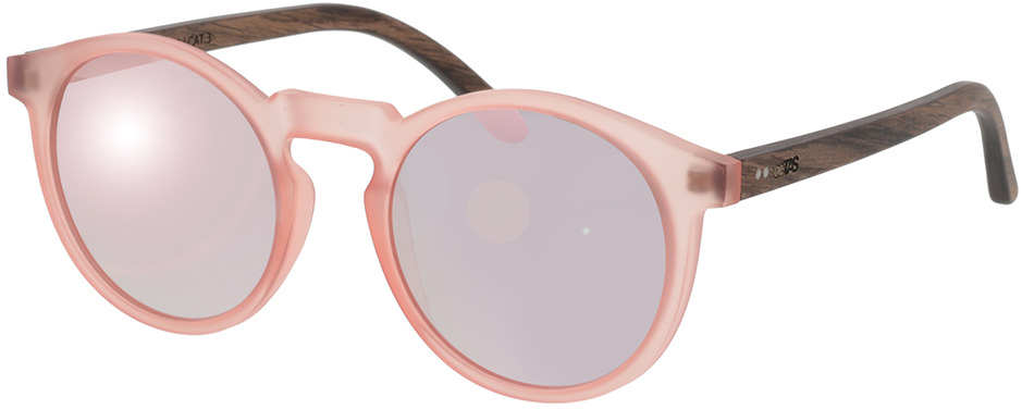 Picture of glasses model TAKE A SHOT Molly: Walnussholz 49-21 in angle 330