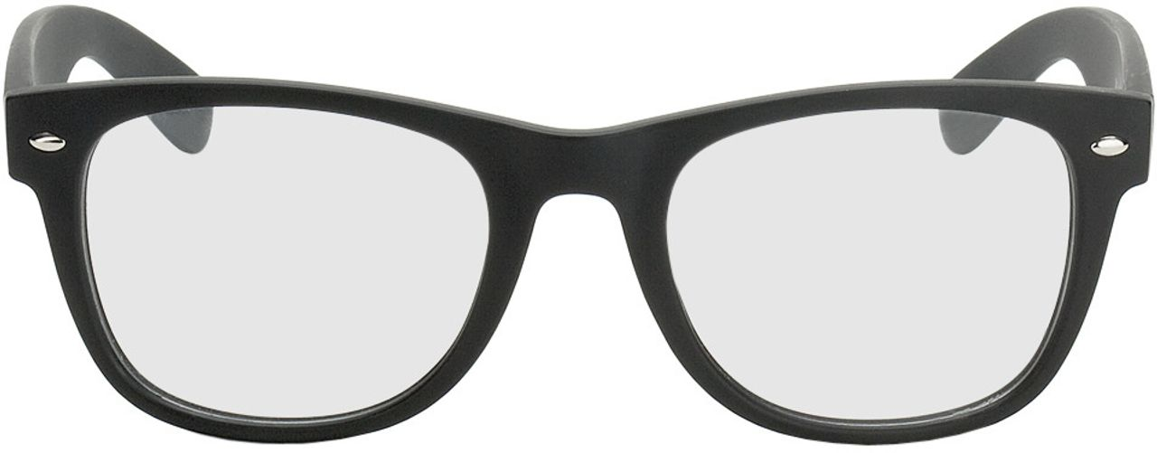 Picture of glasses model Parma black in angle 0