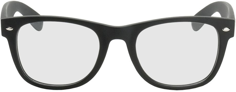 Picture of glasses model Parma-schwarz in angle 0