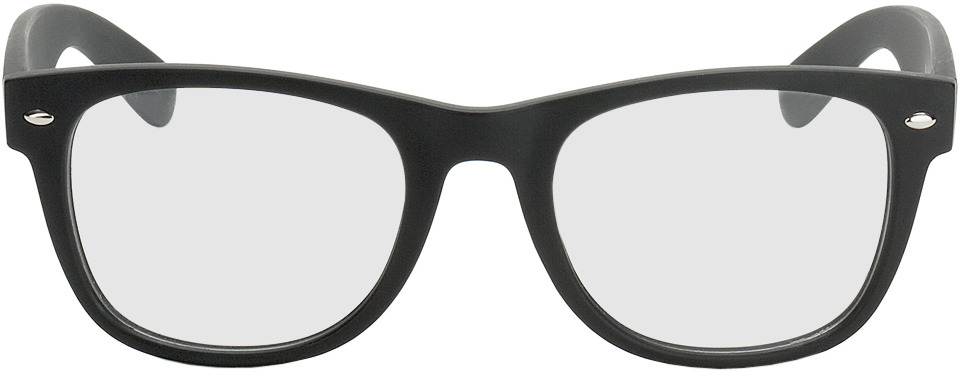 Picture of glasses model Parma noir in angle 0