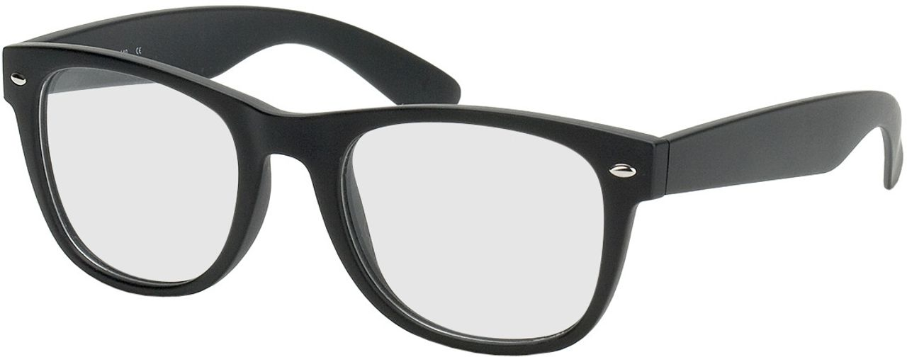 Picture of glasses model Parma black in angle 330