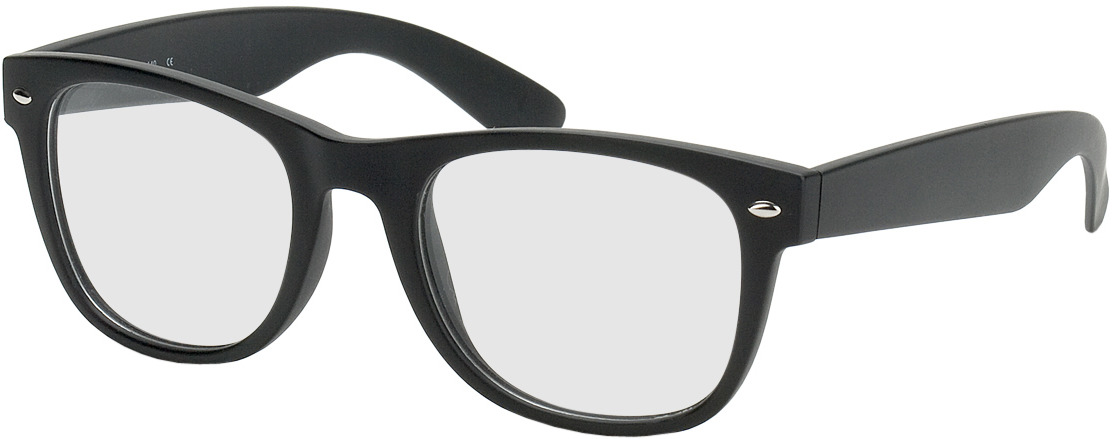Picture of glasses model Parma noir in angle 330