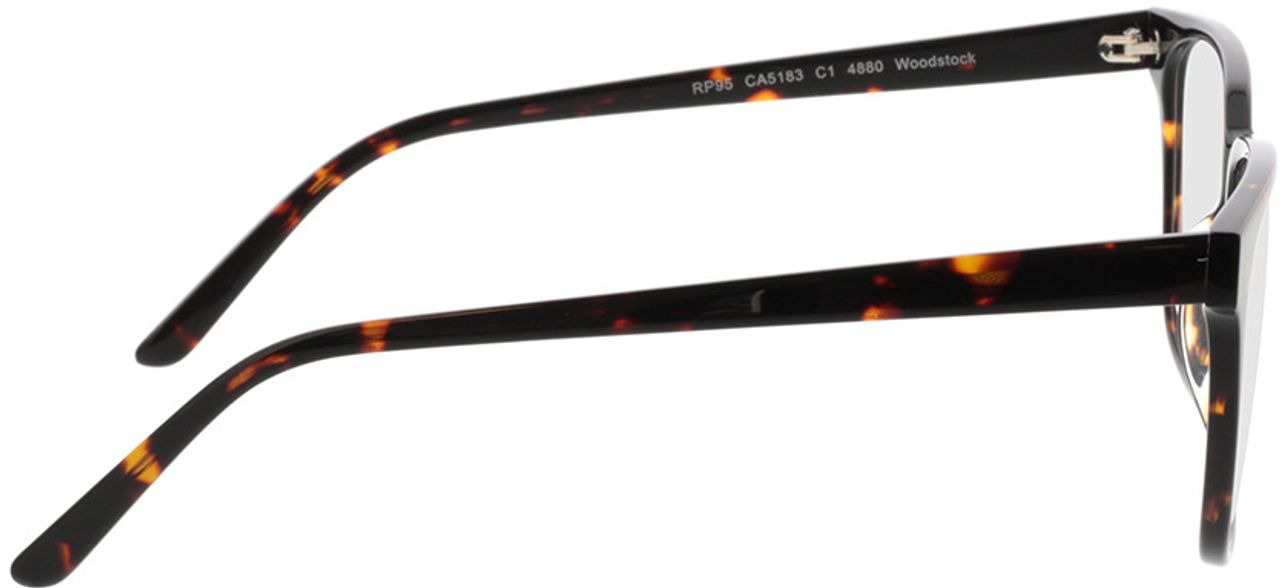 Picture of glasses model Woodstock-braun in angle 90