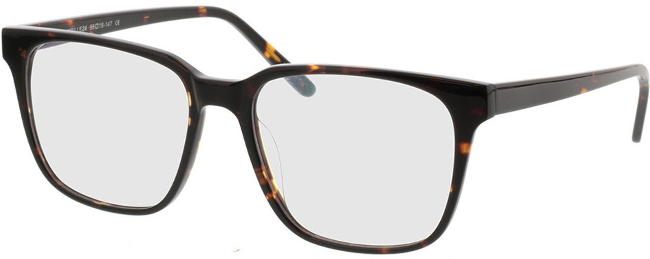 Picture of glasses model Woodstock-braun in angle 330
