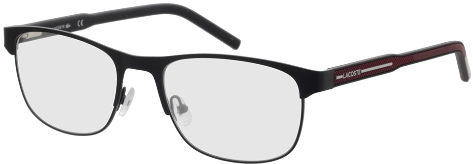 Picture of glasses model Lacoste L2270 001 54-19 in angle 330